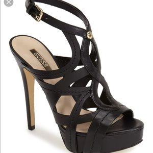Guess Kaesy Platform Heels.